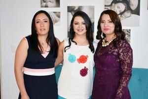 Gabriela Sereno, Cecilia Gonzalez y Cecilia Huizar