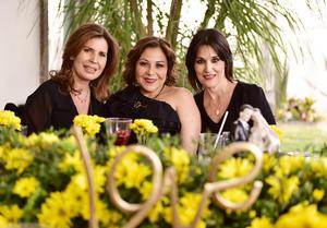 Martha, Lizeth y Cecilia
