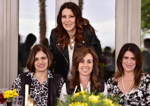 Paty, Eva, Nancy y Selina