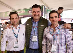 Jorge, Carlos y Manolo