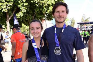 Ana Tricio y Daniel Trevino