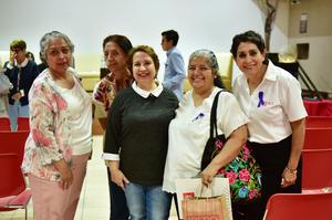18032019 Laura Gámez, Liz Gámez, Giomara Alvarado, Hermelinda Espinoza y Luz María López.