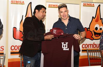 La directiva del club Algodoneros del Unión Laguna, presentó esta tarde de manera oficial al venezolano Niuman Romero como su sexto refuerzo extranjero de cara a la temporada 2019 de la Liga Mexicana de Beisbol (LMB).