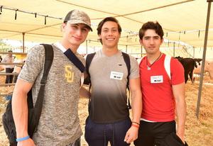 20032019 Mario, Arturo y Mario.