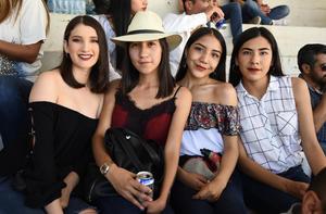 20032019 Joselyne Alvarado, Odette García, Joyce y Odille Algarete.