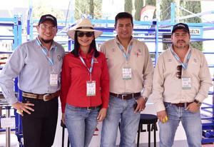 20032019 Gerardo Hernández, Jade Jiménez, Mario Álvarez y Ángel García.