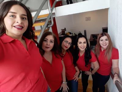 21032019 Mireya, María, Lanna, Claudia y Thelma