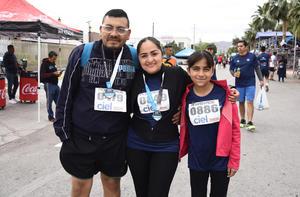 21032019 José Chacón, Lily Quintero y Allison Scarlett.