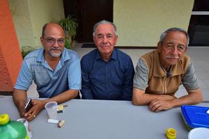 21032019 POSAN PARA LA FOTO.  José, Alfredo y Richo.
