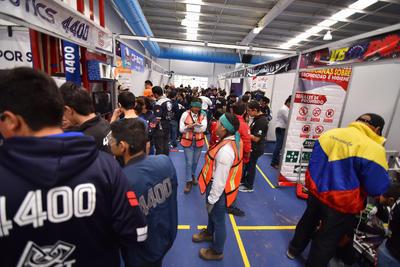"""Respecto al papel del Regional Laguna, Gómez de Navarro señaló que se trata del evento de robótica """"más relevante"""" de México."""