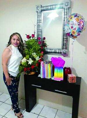 22032019 UN AñO MáS DE VIDA.  Angélica Vega festejó su cumpleaños.