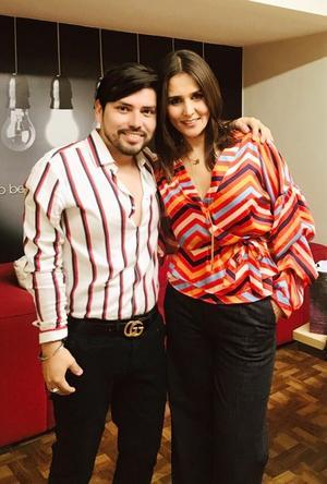 22032019 MUCHAS FELICIDADES.  Asa Lugo y Gaby Córdova festejaron sus respectivos cumpleaños.