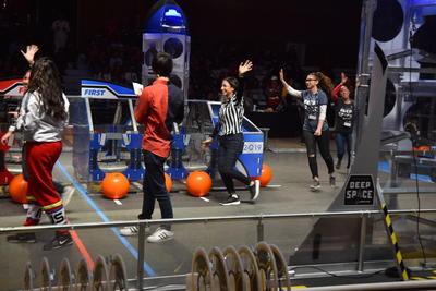 La competencia tiene lugar en las instalaciones del Tecnológico de Monterrey.