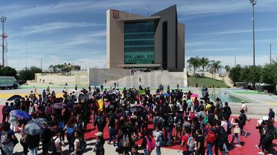 El edificio de la presidencia municipal fue evacuado.