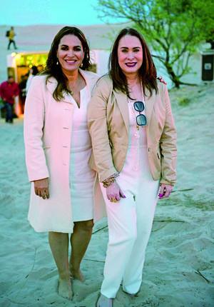23032019 Ana María Boone y Flor Rentería.