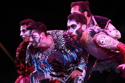 Fue uno de los invitados principales al Festival Culturas del Mundo, organizado por el Instituto Municipal del Arte y la Cultura (Imac).