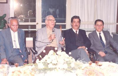 24032019 Joaquín Sánchez Matamoros, Antonio de Juambelz, Antonio Irazoqui y José León Robles de la Torre en la década de los 80'.