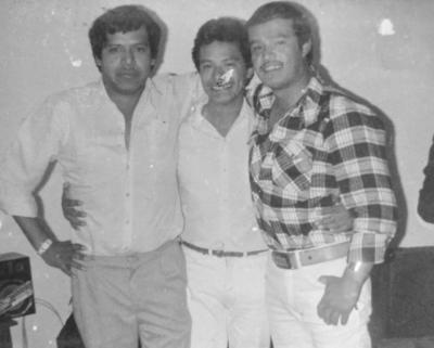 24032019 Los Tres Huastecos: Los hermanos Raúl, Pato y Toño Nava.