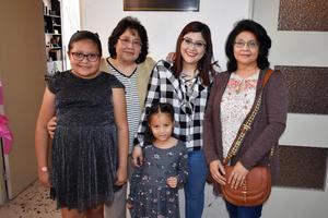 25032019 Angélica, Norma, Marisela, Marisela y Mariana.