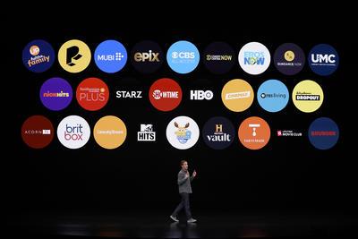 Artistas presentan Apple TV+, nuevo servicio de streaming
