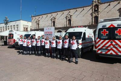 Este lunes inició en Durango la Colecta Nacional de la Cruz Roja 2019, cuya meta es reunir 10 millones de pesos.