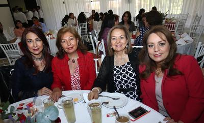 Sandra Marcos, Marielena Favela, María Giacoman y Lucy Espino.