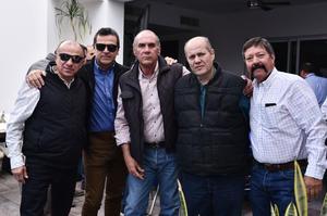 27032019 José, Arturo, Carlos, Carlos y Homero.