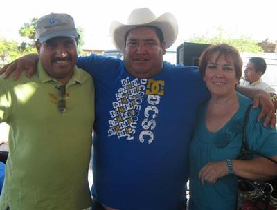 28032019 Justino, César y Bertha.