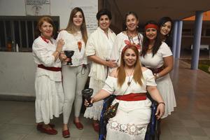 28032019 CONCIERTO DE CUENCOS.  Mary, Gloria, Ivonne, Tania, Martha, Marimar y Maggy.
