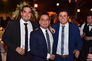 Fernando, Porfi y Mario