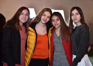 Monica, Karem, Paulina y Michel