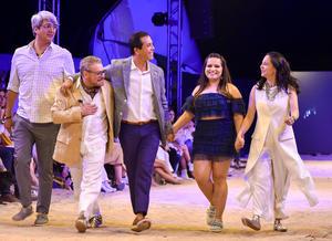 Eduardo Benitez, Víctor Sabido, Oscar Figueroa, Marcela Riquelme y Cynthia Serrano