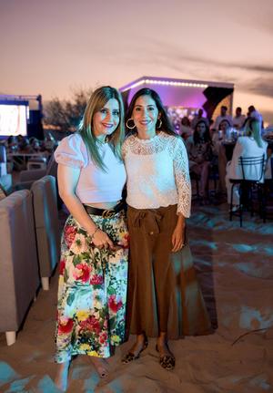Laura Orduno y Claudia Estrada