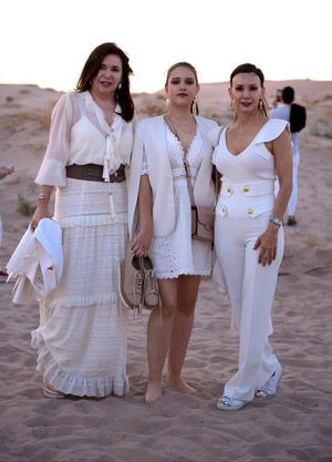 Luly Quintero, Ana Paula y Liliana Gilio