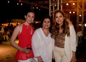 Malu Galindo, Ivonne Sarraf y Alejandra Lopez