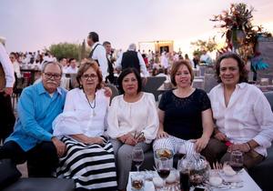 Pablo, Ruth Idalia, Senorina, Martha y Arturo