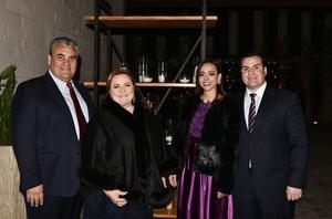 Ricardo, Edna, Erika y Andres