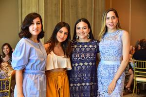 Mariana, Ana Lucia, Andrea y Jennifer
