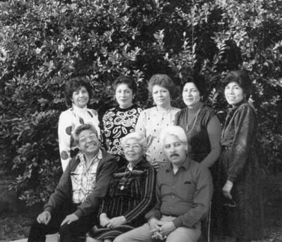 Familia Vázquez Machado.