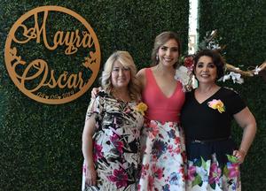 31032019 Mayra González, Mayra Gandarilla y Delfina Rodríguez.