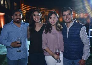 31032019 Óscar, Valeria, Andrea e Iván.