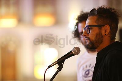 Rogelio Sosa, protagonista del filme, fue el invitado especial de la gala inaugural.