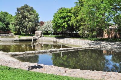 El año pasado se desató una polémica respecto a una gran cantidad de peces que murieron en el lago, sin embargo, el Municipio indicó que esto es normal porque se alimenta de agua tratada.