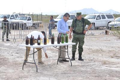 El evento contó con la participación de autoridades y corporaciones de seguridad de los tres niveles de gobierno.