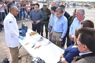 Márquez Guevara, informó que en lo que va de la actual administración estatal se han decomisado e incinerado 57 toneladas tan solo de marihuana, cantidad que equivale a 2 mil millones de pesos en el mercado negro.