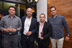 Jaime, Tomas, Miguel y Carlos
