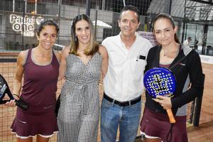Fabiola, Lorena, Manolo y Arantza