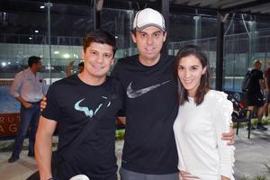 Rodrigo, Miguel y Ana
