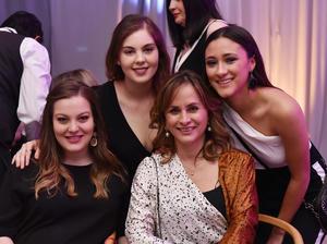 Pilar, Ana Sofia, Martha y Maria Barbara