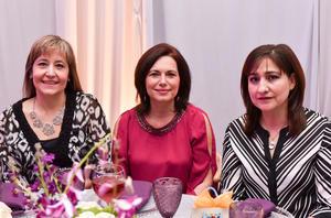 Sandra, Mary Tere y Jenny